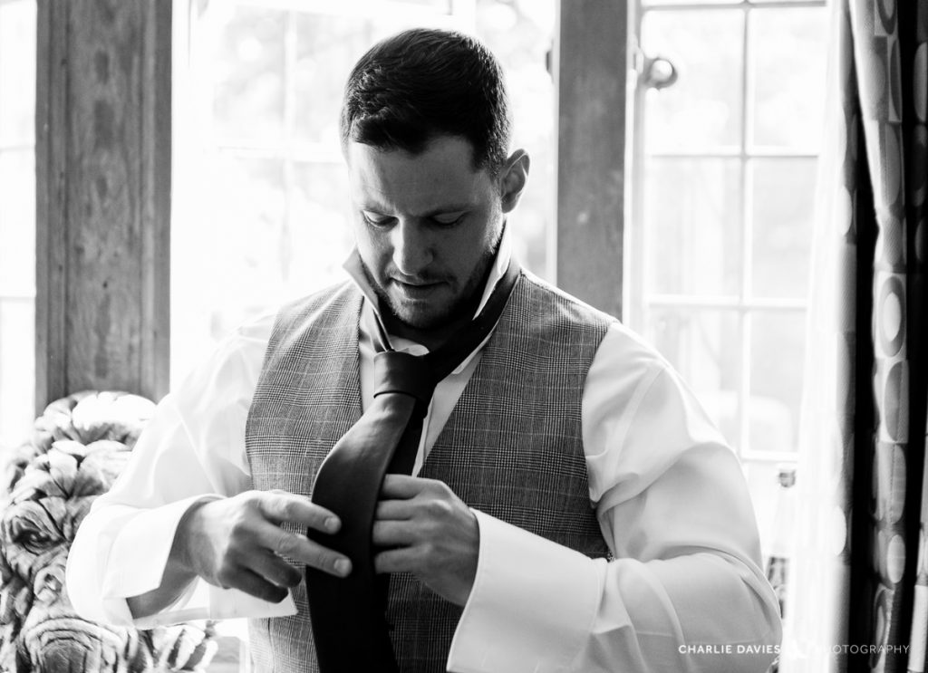 Port Lympne Hotel Groom Prepares